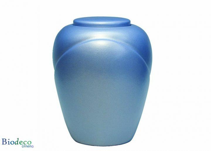 De biologisch afbreekbare zee-urn Traditional Aqua, voor asbijzetting in het water